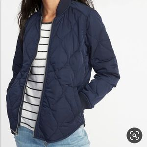 NEW Old Navy Quilted Bomber Jacket